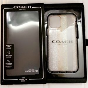 🆕🌟🖤HOST PICK🖤🌟Coach Glitter Case iPhone 11Pro